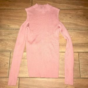 Never Worn Ambiance Pink Long Sleeve Top